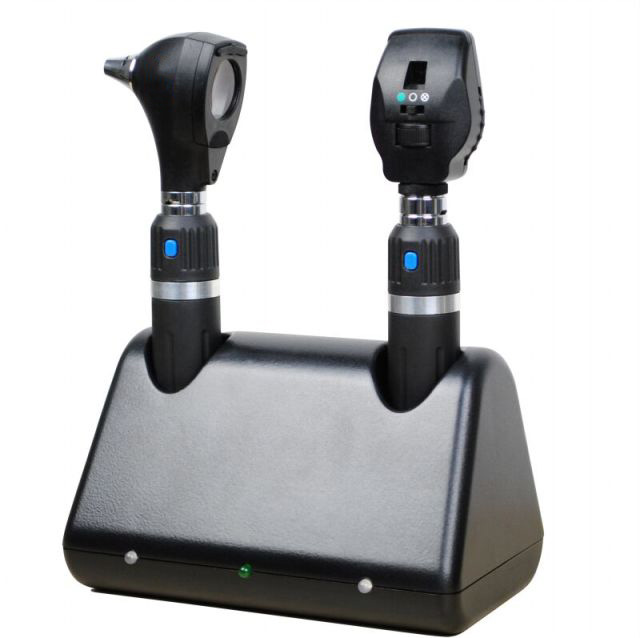 Rechargeable Ophthalmoscope and Otoscope
