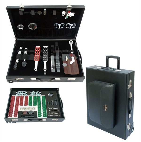 Luxury optometry vision tester set